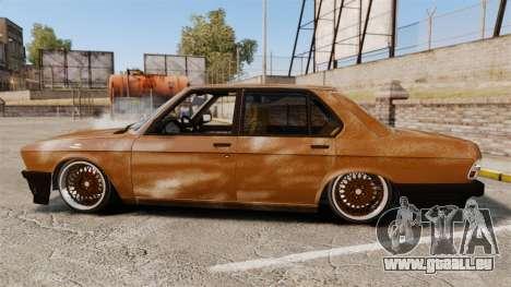 BMW 535is E28 Sharkie pour GTA 4 est une gauche