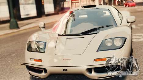 McLaren F1 XP5 für GTA 4 rechte Ansicht