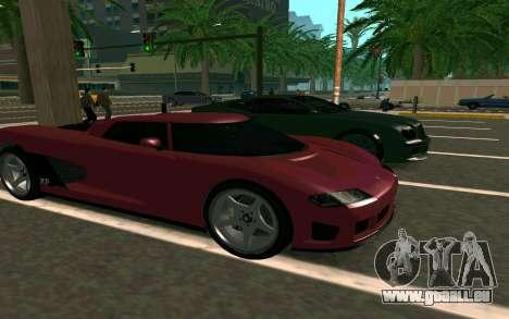 GTA V Entity XF pour GTA San Andreas vue arrière