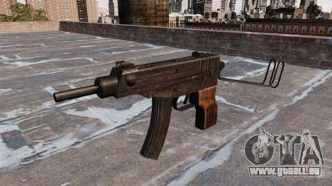 SMG Skorpion vz. 61 für GTA 4 dritte Screenshot