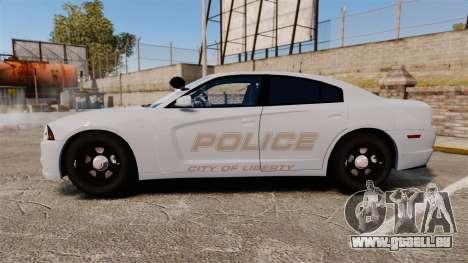 Dodge Charger 2011 LCPD [ELS] für GTA 4 linke Ansicht