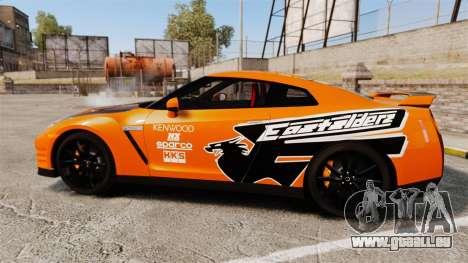 Nissan GT-R 2012 Black Edition NFS Underground für GTA 4 linke Ansicht