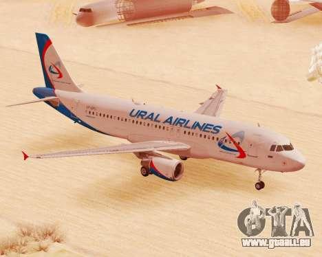 Airbus A320-200 Ural Airlines für GTA San Andreas