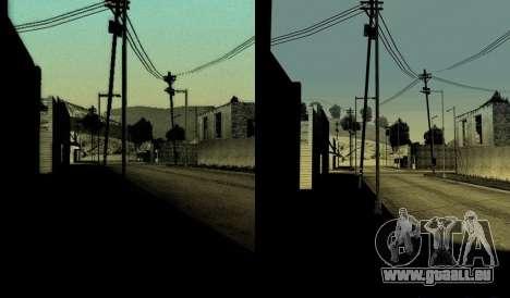 HD carte, radar et menu pour GTA San Andreas