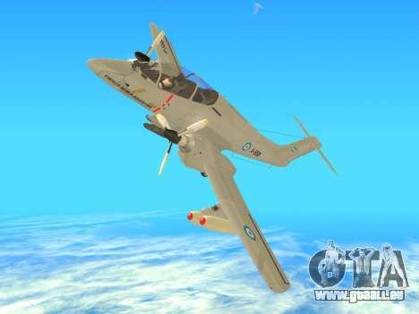 FMA IA-58 Pucara pour GTA San Andreas vue de droite