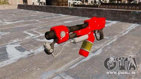 Le lance-flammes MX-295 pour GTA 4 troisième écran