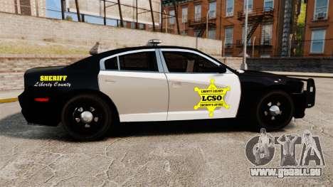 Dodge Charger 2013 LCSO [ELS] für GTA 4 linke Ansicht