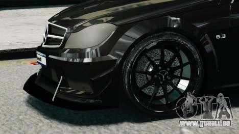 Mercedes-Benz C63 AMG Black Series 2012 für GTA 4 rechte Ansicht