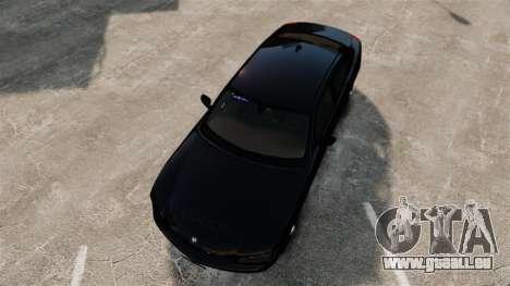 Dodge Charger Slicktop Police [ELS] für GTA 4 rechte Ansicht