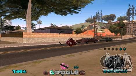 C-HUD Google für GTA San Andreas fünften Screenshot