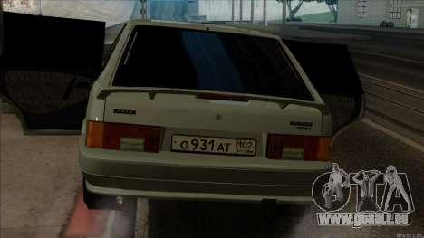 VAZ 2114 pour GTA San Andreas vue de côté