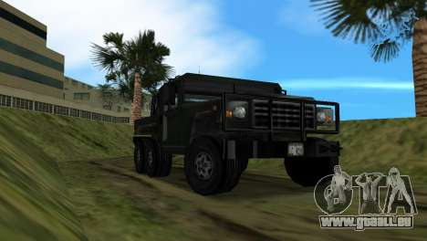 Patriot 6x6 für GTA Vice City Rückansicht