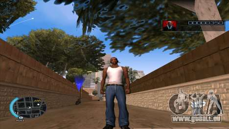 C-HUD Hitman Absolution für GTA San Andreas
