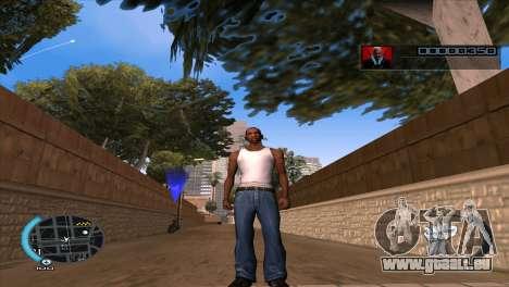 C-HUD Hitman Absolution pour GTA San Andreas