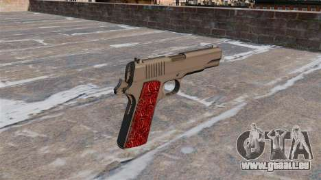 Waffen Colt 1911 Chrom für GTA 4 Sekunden Bildschirm