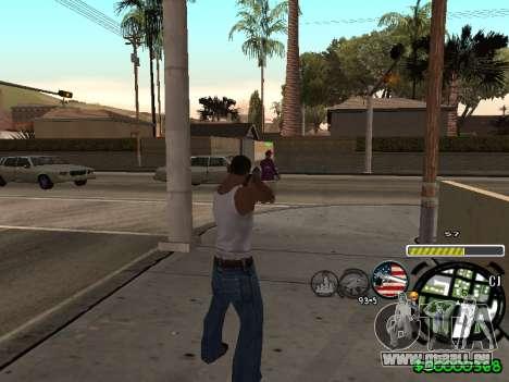 C-HUD Andy Cardozo pour GTA San Andreas deuxième écran