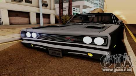 Dodge Coronet RT 1969 440 Six-pack pour GTA San Andreas vue de côté