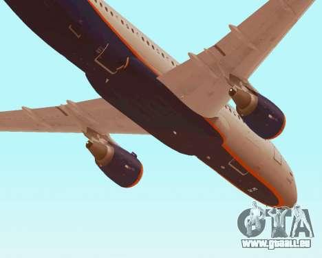 Airbus A320-200 Aeroflot für GTA San Andreas Innen