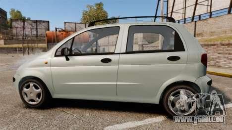 Daewoo Matiz SE 1998 pour GTA 4 est une gauche