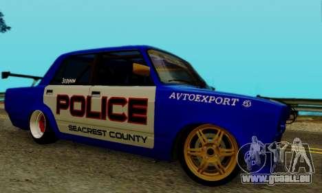 VAZ 2107 Drift für GTA San Andreas rechten Ansicht
