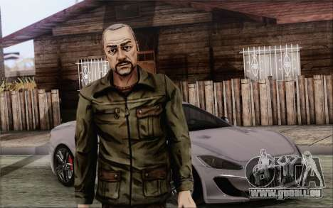 Pete from Walking Dead für GTA San Andreas