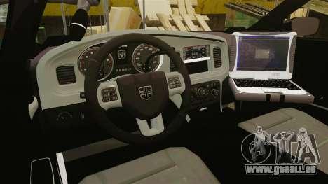 Dodge Charger 2011 Liberty Clinic Police [ELS] für GTA 4 Rückansicht