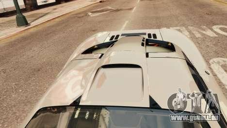 McLaren F1 XP5 für GTA 4 Rückansicht