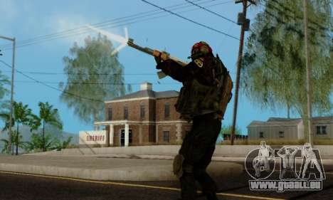 Kopassus Skin 1 pour GTA San Andreas dixième écran