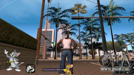 C-HUD Tom and Jerry pour GTA San Andreas