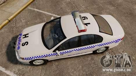 Ford Falcon XR8 Police Western Australia [ELS] pour GTA 4 est un droit