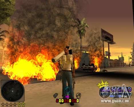 C-HUD Old Ghetto pour GTA San Andreas troisième écran