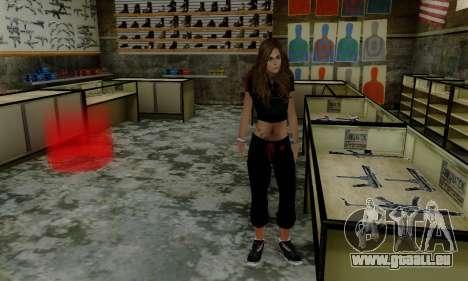 Carlita für GTA San Andreas her Screenshot