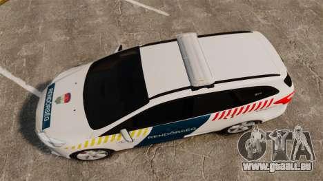Ford Focus 2013 Hungarian Police [ELS] für GTA 4 rechte Ansicht
