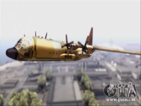 C-130 Hercules Royal Moroccan Air Force pour GTA San Andreas