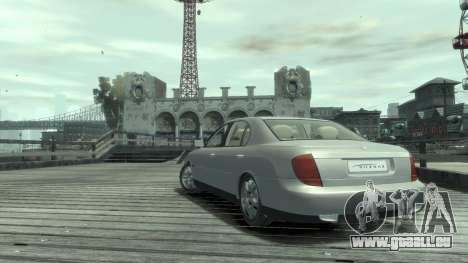Daewoo Shiraz pour GTA 4 est un droit