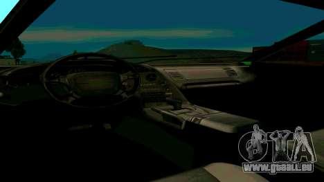 Nouveau Turismo pour GTA San Andreas vue de droite