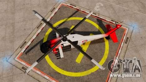 Annihilator U.S. Coast Guard HH-60 Jayhawk pour GTA 4 est un droit