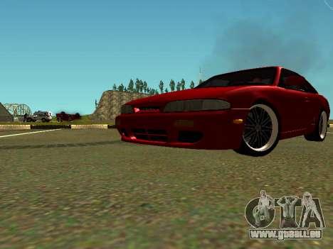 Nissan Silvia S14 Zenki für GTA San Andreas Innenansicht