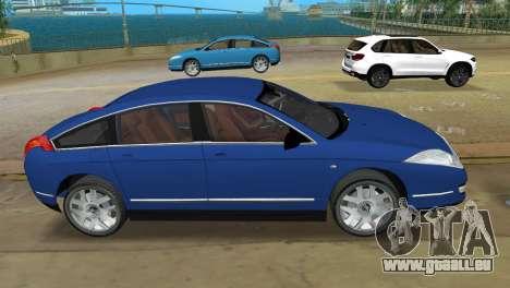 Citroen C6 für GTA Vice City linke Ansicht