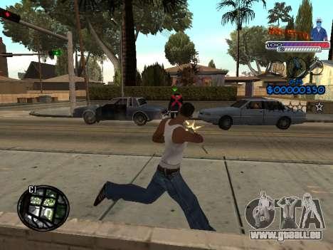 Le nouveau C-HUD Ghetto pour GTA San Andreas quatrième écran