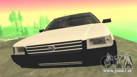 Fiat Uno Fire Cargo pour GTA San Andreas laissé vue