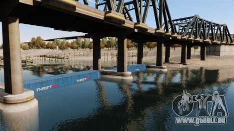 Die Straße unter der Brücke für GTA 4 fünften Screenshot