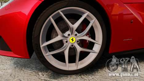 Ferrari F12 Berlinetta 2013 [EPM] Deaths-head pour GTA 4 Vue arrière