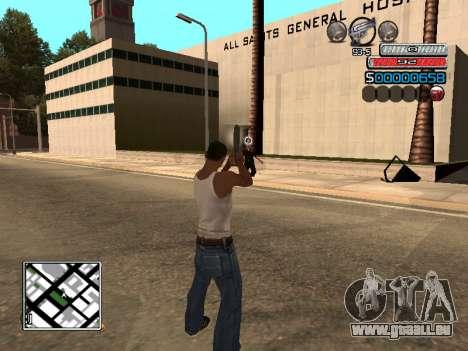 Die neue C-HUD für GTA San Andreas dritten Screenshot