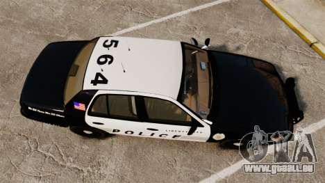 Ford Crown Victoria LCPD [ELS] pour GTA 4 est un droit