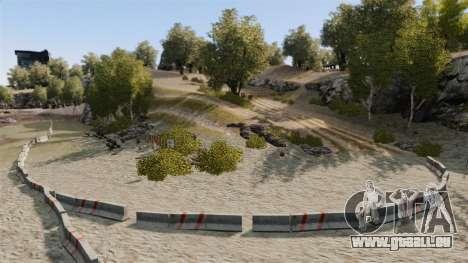 Rallye de la piste pour GTA 4 troisième écran