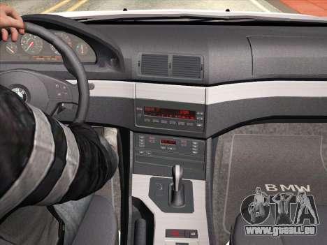 BMW 530d E39 für GTA San Andreas Unteransicht