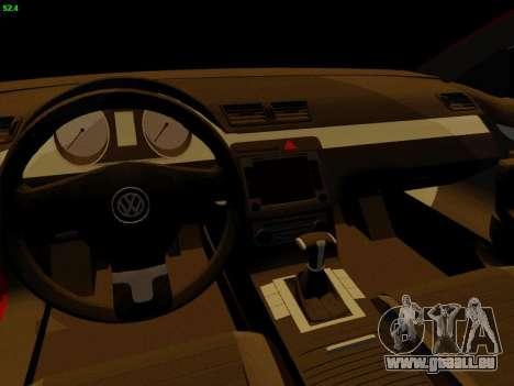 Volkswagen Passat CC für GTA San Andreas Rückansicht