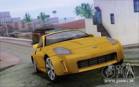 Nissan 350Z pour GTA San Andreas