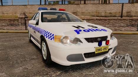 Ford Falcon XR8 Police Western Australia [ELS] für GTA 4